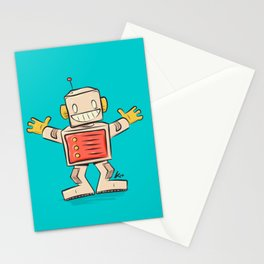 Sweet robot Stationery Cards
