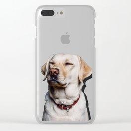 Suspicion Clear iPhone Case