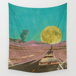 EVENING EXPLOSION II Wall Tapestry