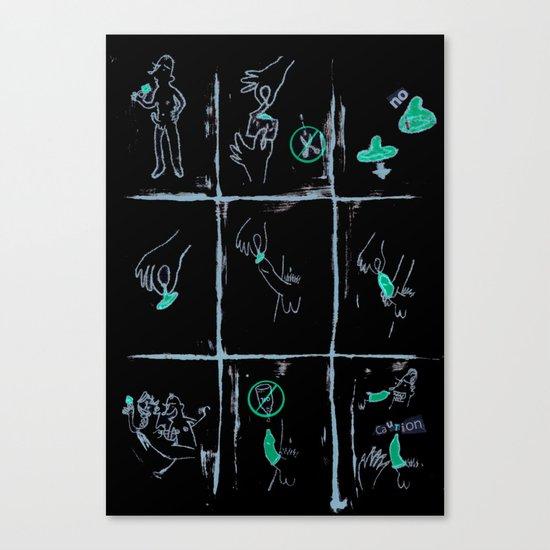 condom Canvas Print