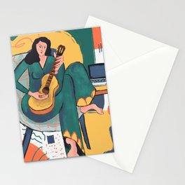 In The Mood For Music Stationery Cards