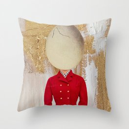 The Ego Throw Pillow
