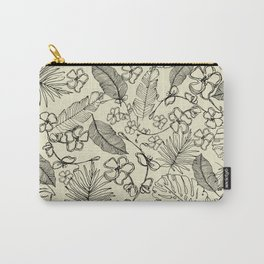 Tropical doodle Carry-All Pouch