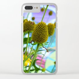 Graphic Weed Clear iPhone Case