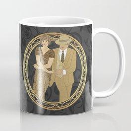 Cajun two step dance wreath Coffee Mug