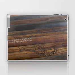 Wooden baseball bats Laptop & iPad Skin