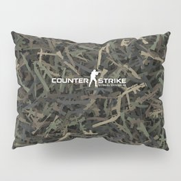 Counter strike weapon camouflage Pillow Sham