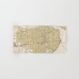 Vintage Map of Havana Cuba (1905) Hand & Bath Towel