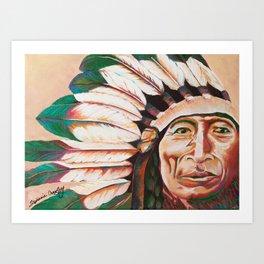 Iron Tail Painting Art Print