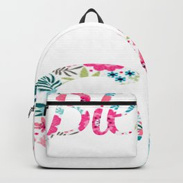 womens blessed to be called gg tee Backpack