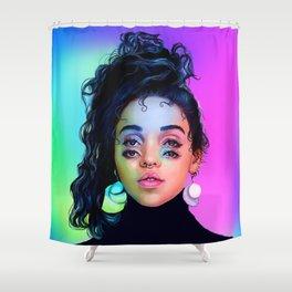 Prismatic Tahliah Shower Curtain