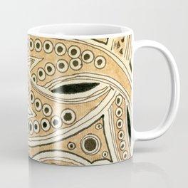 Golden Ribbons Coffee Mug