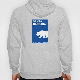 Santa Barbara.  Hoody
