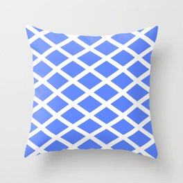 abstraction from the flag of scotland. Throw Pillow