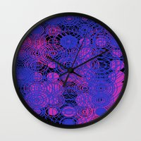 lace Wall Clocks featuring Lace by SBHarrison