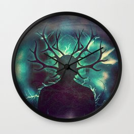 Deer Dreams II Wall Clock