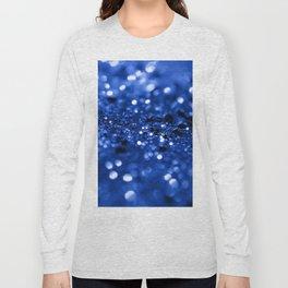 Blue Lady Glitter #1 #shiny #decor #art #society6 Long Sleeve T-shirt