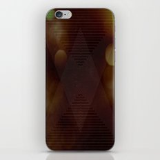 Bokeh Triangle iPhone & iPod Skin