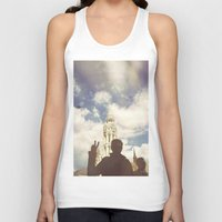 budapest Tank Tops featuring Budapest by BriAnneWills