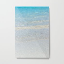 Waikiki Shore // Vertical Metal Print