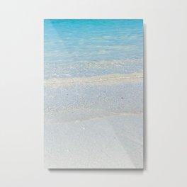 Waikiki Shore // Vertical Metal Print