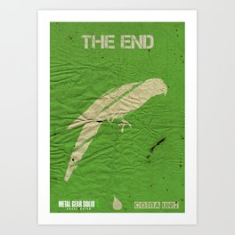 The Cobra Unit - The End Art Print