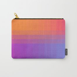 Squares and Stripes Four Carry-All Pouch