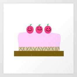 Sweet cake Art Print