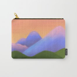 sunset landscape Carry-All Pouch