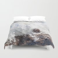 coconut wishes Duvet Covers featuring Coconut Overtaken by Jennifer Stinson