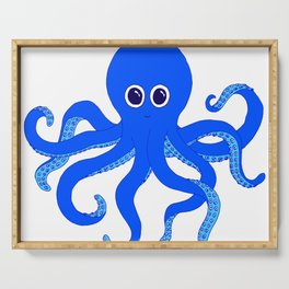 Octopus (Blue) Serving Tray