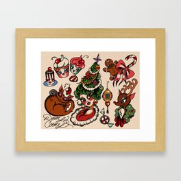 Holidaze Framed Art Print