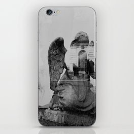 Angel. Novodevichy convent. Moscow. iPhone Skin
