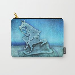 The Thinker Unicorn Carry-All Pouch