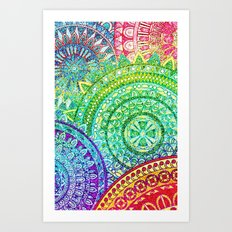 Pattern 23415 Art Print