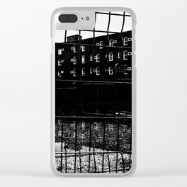 Sherbrooke architecture Clear iPhone Case