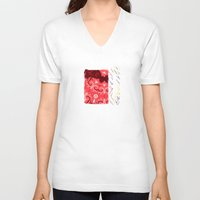 venus V-neck T-shirts featuring Venus by Avigur