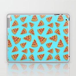 Pizza Party Blue Pattern Laptop & iPad Skin