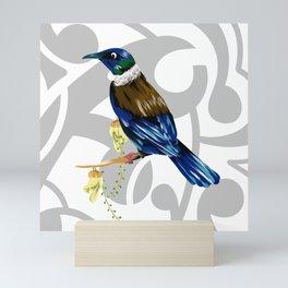 Tui New Zealand Bird Mini Art Print