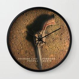 Ballad Of Buster Scruggs Wall Clock