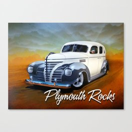 Plymouth Rocks Canvas Print