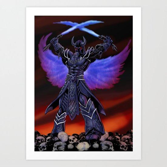 Deathwings Art Print