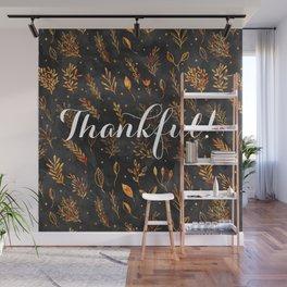 Season of Thanks Wall Mural