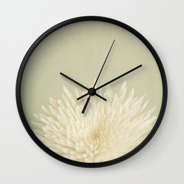 Pale Beauty Wall Clock
