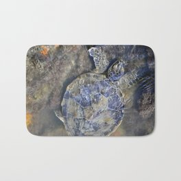 SEA TURTLE-Old Man of the Sea Bath Mat