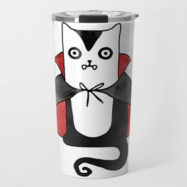 Vampire Cat – Dracula suit Travel Mug