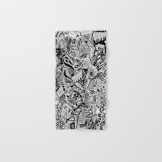 Inky \\ Hand & Bath Towel