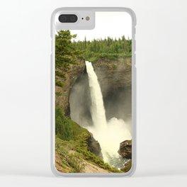 Helmcken Falls Clear iPhone Case