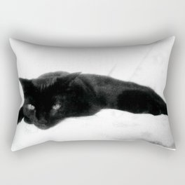 Queen of the Concrete Jungle Chillin' Rectangular Pillow