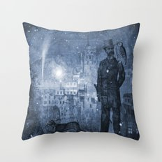 One Starry Night Throw Pillow